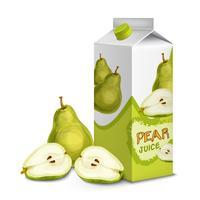 Saftpackung Birne