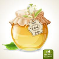 Linden honung burk
