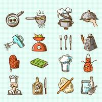 Ikonen-Skizze kochen