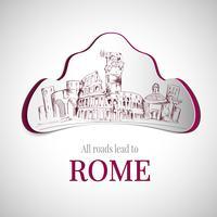 Emblem der Stadt Rom vektor
