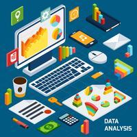 Isometrisk dataanalys vektor
