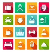 Set von Hotel Icons