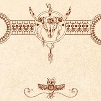 Stammes-Skizze Hintergrund