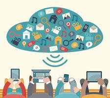 Använda mobila enheter