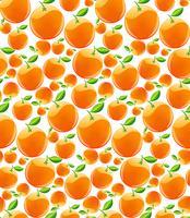 Orange nahtloses Muster
