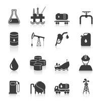 Ölindustrie Icons