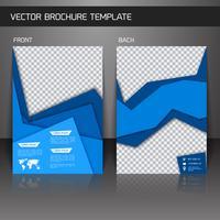 Flyer Broschürenvorlage vektor