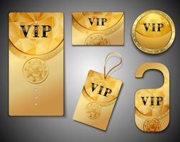 Designvorlage für VIP-Karten