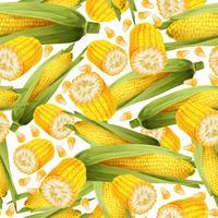 Corn sömlöst mönster