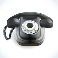 Retro stil telefon