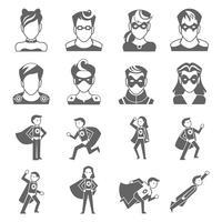 Superheld-Symbol