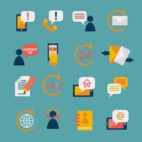 Kontaktieren Sie uns Service Icons