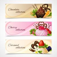 Süßigkeiten Banner horizontal