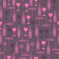 Restaurang sömlöst mönster vektor
