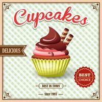 Cupcake-Café-Plakat