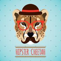 Animal hipster porträtt