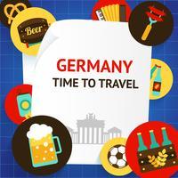 Deutschland Hintergrundvorlage