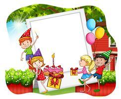 Geburtstagsparty vektor