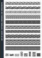 Keltiska mönster och prydnadssatser