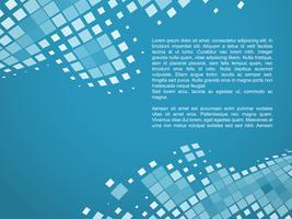 blå mosaik bakgrund