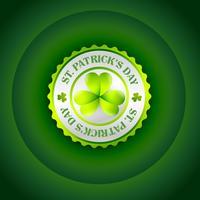 St. Patrick's Day Label