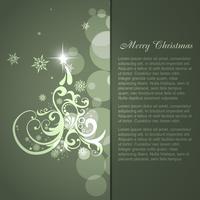 Vektor-Weihnachtsbaum