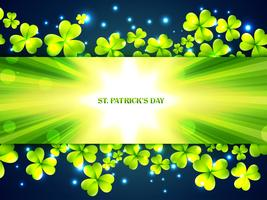 St Patrick Tag Hintergrund vektor