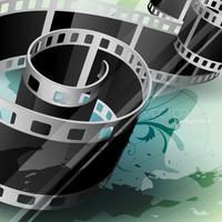 vektor filmrulle