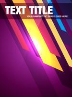 abstrakte Titelseite Illustration vektor