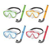 Snorkel vektor samling design