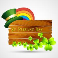 Vektor St Patrick Tag Design