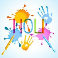 Holi Festival Hintergrund vektor
