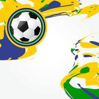 abstraktes Fußballspieldesign vektor