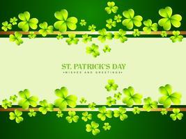 Vektor St Patrick Tag Design Illustration