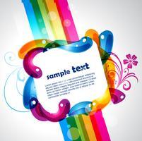 färgstark design