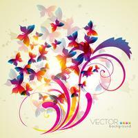 Schmetterlingsvektor vektor