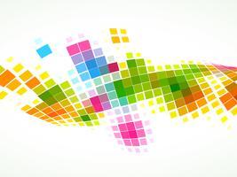 Mosaik-Wellenhintergrund