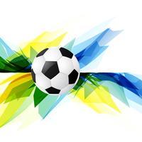 Grunge-Stil-Fußball-Hintergrund vektor