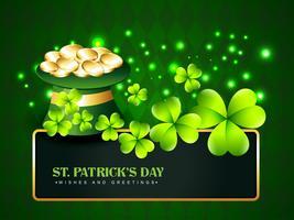 Saint Patrick's Day Hintergrund vektor