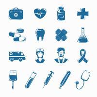 Medicinsk ikoner Set
