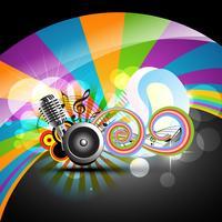 musik tema design