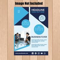 företags flygblad mall 1