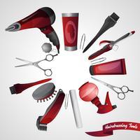 Friseursalon-Konzept
