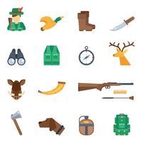 Jagd Icons Set