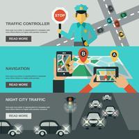 trafikbanneruppsättning