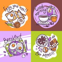 Frukostdesignkoncept