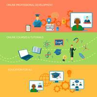 Online-Bildungsbanner
