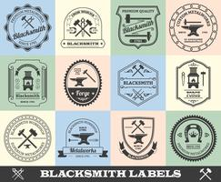 Schmied Label Set