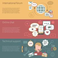 Chat Banner horizontal