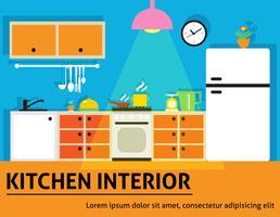Küche Interieur Poster